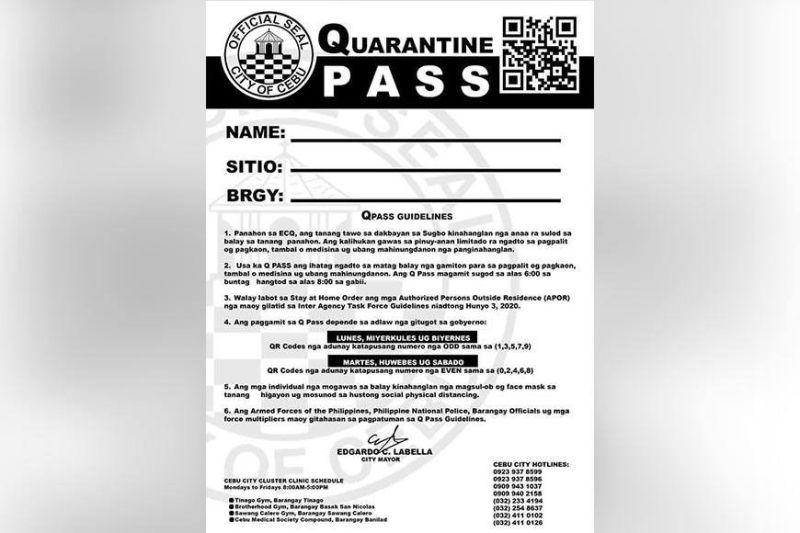 EXPLAINER: DILG says no need for quarantine pass under GCQ; Cebu City mayor requires it. Obey the mayor.