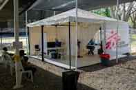 "Doctors Without Borders says 30 percent of the patients at its ""Friends for Health"" clinic in Vidono, Venezuela were teenagers"