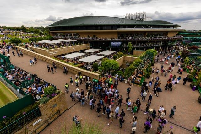Wimbledon was part of the Government's Events Research Programme in the summer