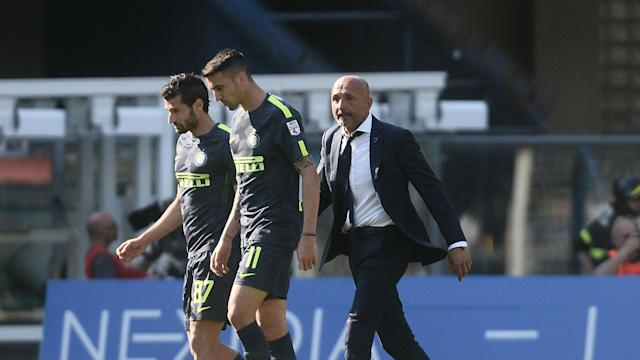 Luciano Spalletti said Inter need to show character, courage and responsibility as they aim for a top-four finish in Serie A.