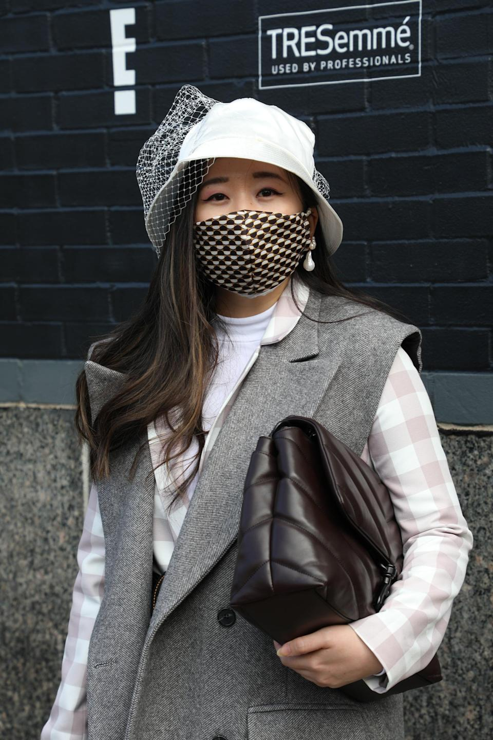 <p>You can treat the prints of your mask like any other accessories and add a bolder pattern to solid separates. </p>