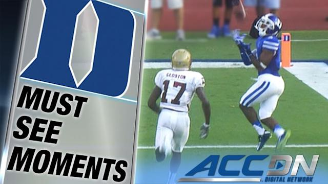 Boone throws for 4 TDs, Duke routs Elon 52-13