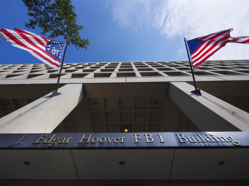 J. Edgar Hoover FBI Building, Washington DC.