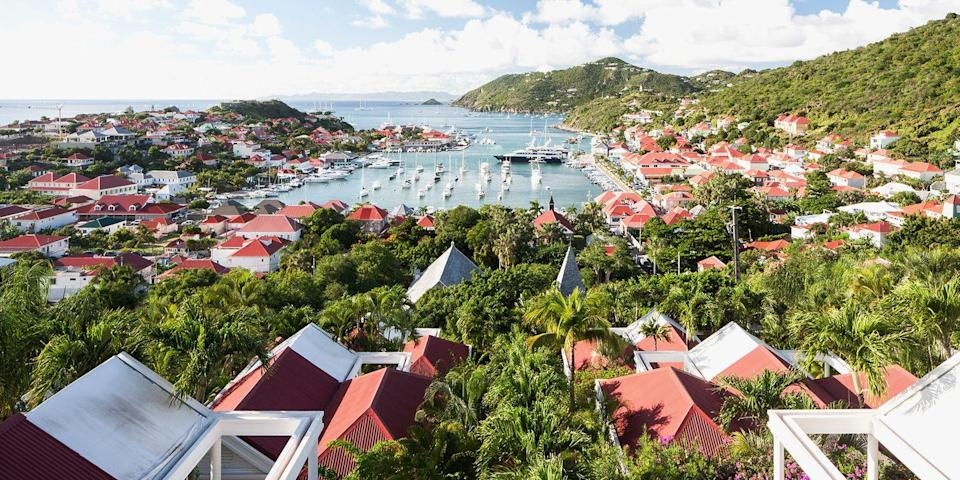 """<p>This glamorous playground, frequented by the rich and <span class=""""redactor-unlink"""">famous</span>, is known for its gorgeous beaches like <span class=""""redactor-unlink"""">Grand Salines</span> and Colombier, glitzy nightlife, designer boutiques, and a yacht-lined harbor. Pop open the Champagne and get the party started!</p>"""