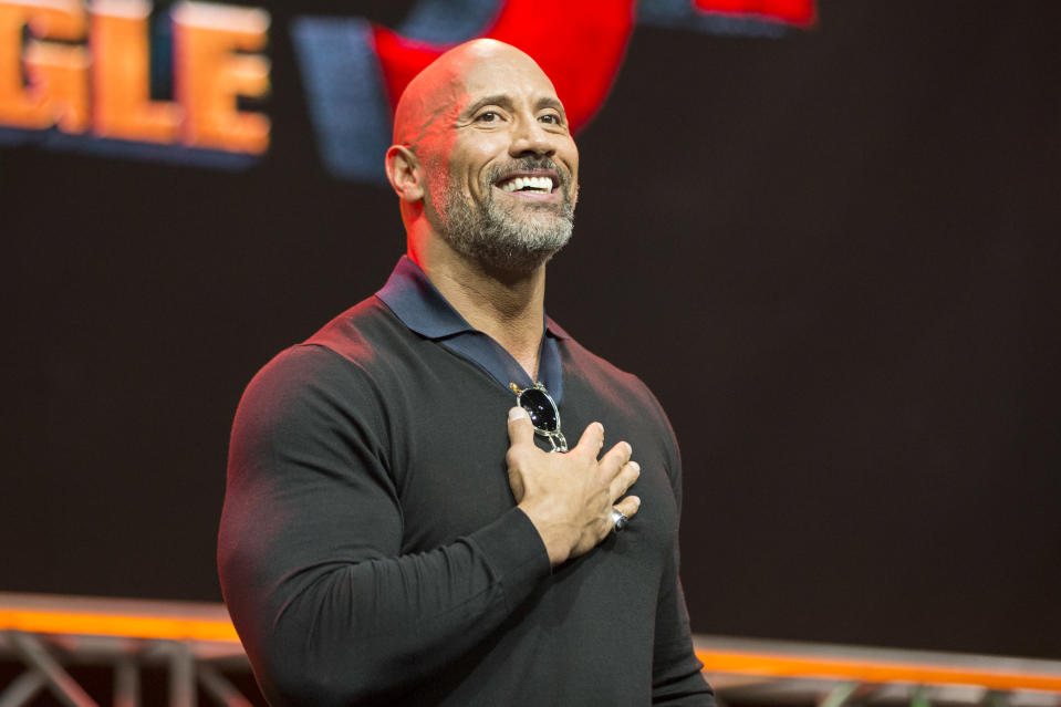 "Dwayne Johnson has spoken out about the ""absolute worst time"" in his life. (Photo: Rich Polk/Getty Images for Entertainment Weekly)"