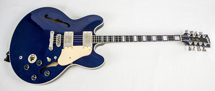 Daryl Hall has performed with this Gibson Marauder, c. 1982. The 2014 Rock and Roll Hall of Fame Inductee exhibit opens May 31, 2014 in Cleveland, Ohio.