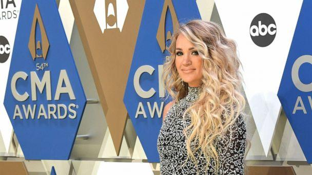 PHOTO: Country artist Carrie Underwood attends the 54th annual CMA Awards at the Music City Center, Nov. 11, 2020, in Nashville. (Jason Kempin/Getty Images, FILE)