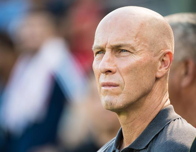 Could Bob Bradley and his son Michael be reunited in Los Angeles? There's a chance, however remote. (Getty Images)