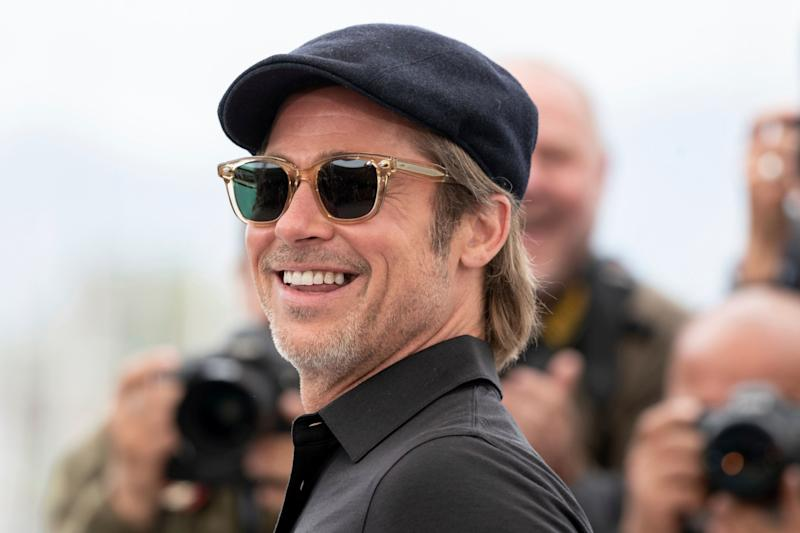Actor Brad Pitt poses for photographers at the photo call for the film 'Once Upon a Time in Hollywood' at the 72nd international film festival, Cannes, southern France, Wednesday, May 22, 2019. (Photo by Joel C Ryan/Invision/AP)
