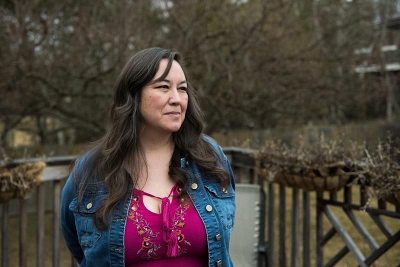 Alaska -Anchorage, Alaska - Ronalda Angasan suffered years of abuse by her ex-husband. She turned her experience into action by founding Alaska Natives Against Domestic Violence to assist other women in similar situations. [Via MerlinFTP Drop]