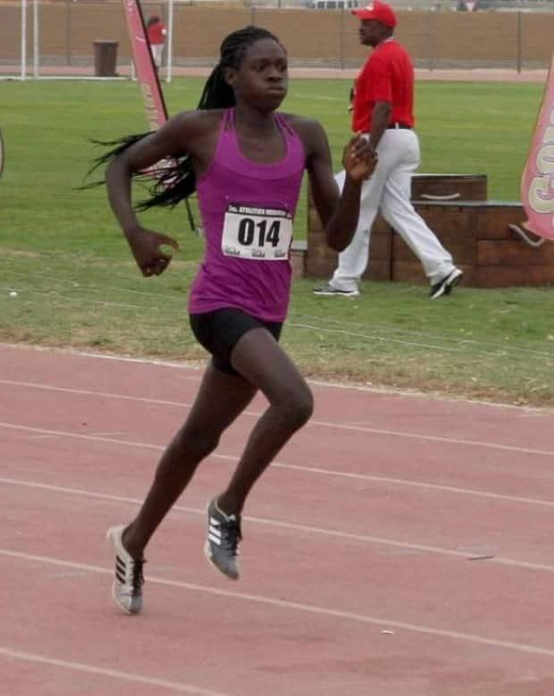 Namibian runners Christine Mboma, pictured, and Beatrice Masilingi, were found to have levels of natural testosterone that exceed a limit for women World Athletics established in 2018. (Christine Mboma/Instagram - image credit)