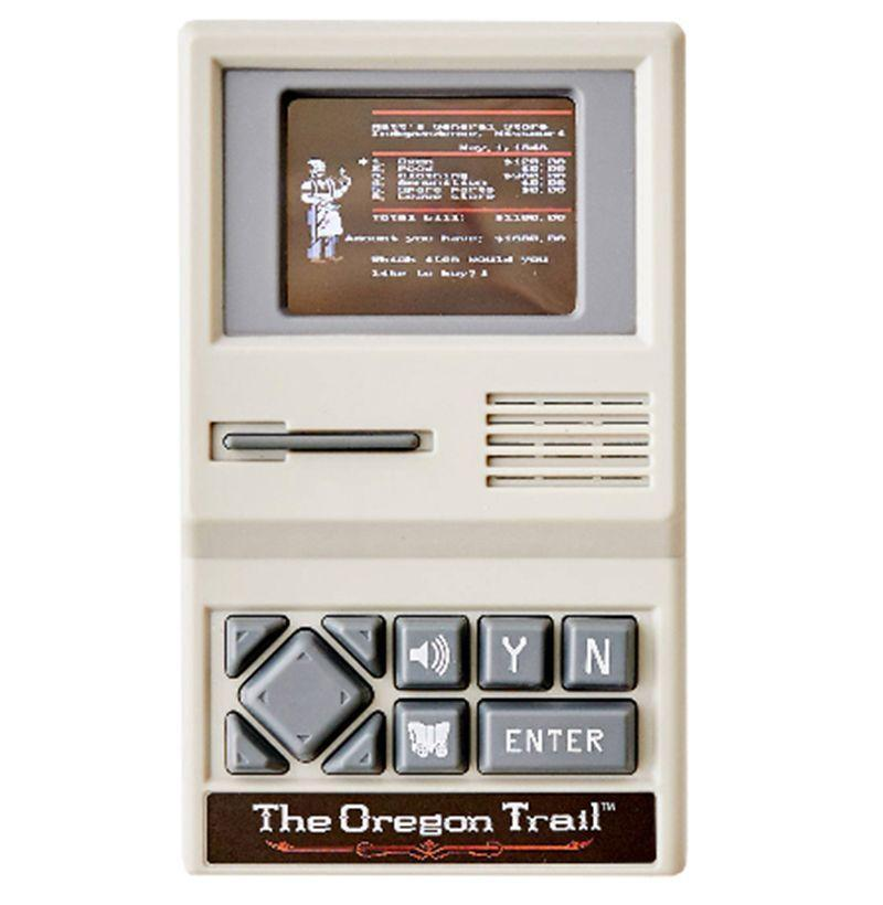 "<p><strong>Urban Outfitters</strong></p><p>amazon.com</p><p><strong>$22.19</strong></p><p><a href=""https://www.amazon.com/The-Oregon-Trail-Handheld-Game/dp/B07B61BFSW?tag=syn-yahoo-20&ascsubtag=%5Bartid%7C10054.g.23681751%5Bsrc%7Cyahoo-us"" rel=""nofollow noopener"" target=""_blank"" data-ylk=""slk:Buy"" class=""link rapid-noclick-resp"">Buy</a></p><p>Remember the death and destruction wrought by this game? Of course you do.</p>"