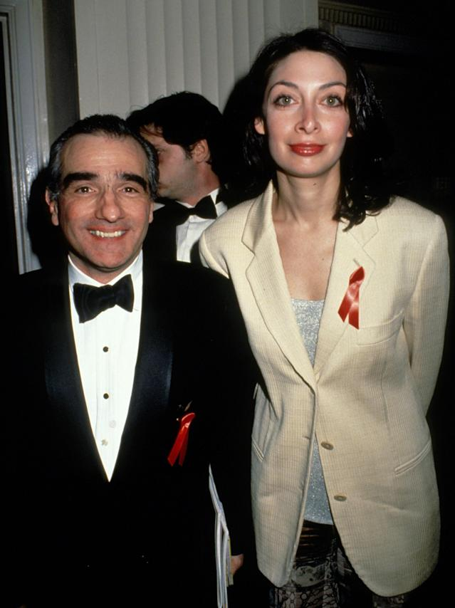 Illeana Douglas and Martin Scorsese dated for nearly a decade. (Photo: Getty Images)