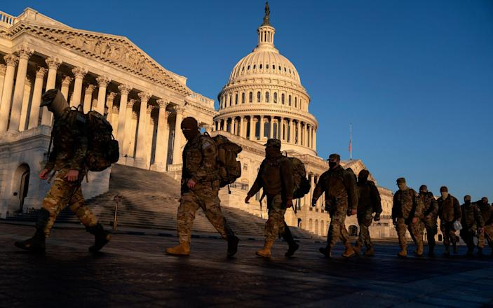 soldiers - Stefani Reynolds/Getty Images