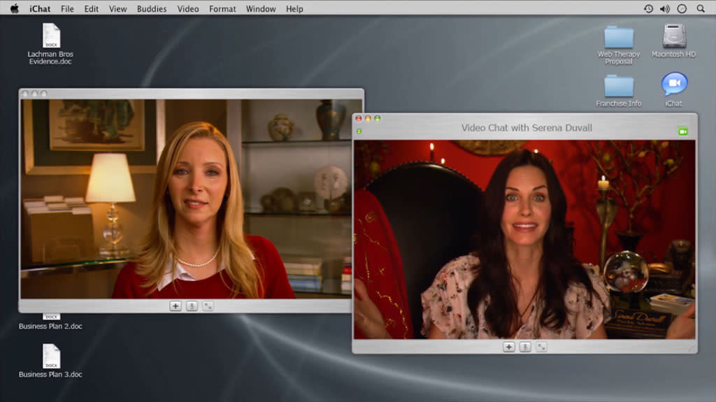 "<b>Courteney Cox on ""Web Therapy"" </b><br><br>Never say that Courteney Cox doesn't pay her debts: She returned Lisa Kudrow's ""Cougar Town"" favor last year by guest starring on Kudrow's ""Web Therapy"" (reprising the role she played when it was still just a web series). Cox played Serena Duvall, an Internet psychic who seems to have misplaced her abilities and needs Fiona's help to get them back. But wasn't Phoebe always the psychic one back on ""Friends""? We're guessing Cox jumped at the chance to play the kooky one for once."