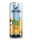 """<p><strong>Crook & Marker </strong></p><p>drizly.com</p><p><strong>$7.51</strong></p><p><a href=""""https://go.redirectingat.com?id=74968X1596630&url=https%3A%2F%2Fdrizly.com%2Fbeer%2Fspecialty-beer-alternatives%2Fhard-seltzer%2Fcrook-and-marker-spiked-sparkling-coconut-pineapple-seltzer%2Fp92498&sref=https%3A%2F%2Fwww.delish.com%2Fkitchen-tools%2Fcookware-reviews%2Fg33263238%2Fhard-seltzers%2F"""" rel=""""nofollow noopener"""" target=""""_blank"""" data-ylk=""""slk:BUY NOW"""" class=""""link rapid-noclick-resp"""">BUY NOW</a></p><p>No time to make a Piña Colada? This coconut and pineapple flavored seltzer tastes just like the tropical drink—with a fraction of the calories.</p>"""