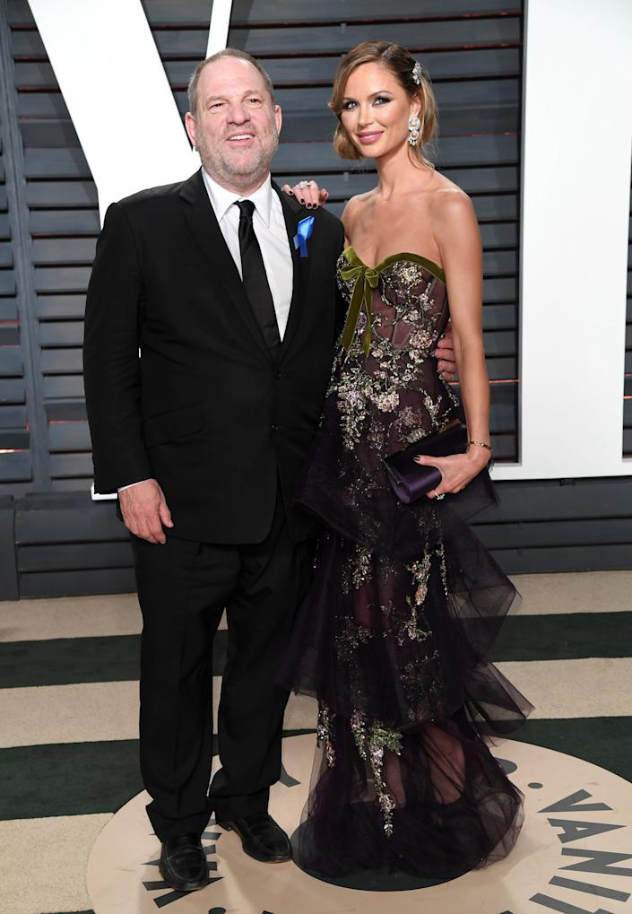 Weinstein and Chapman in February 2017. (Photo: Karwai Tang via Getty Images)