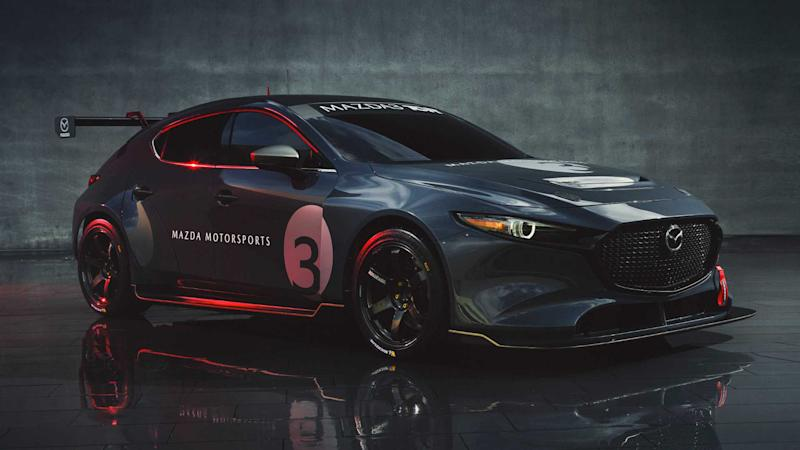 Mazda3 TCR race car