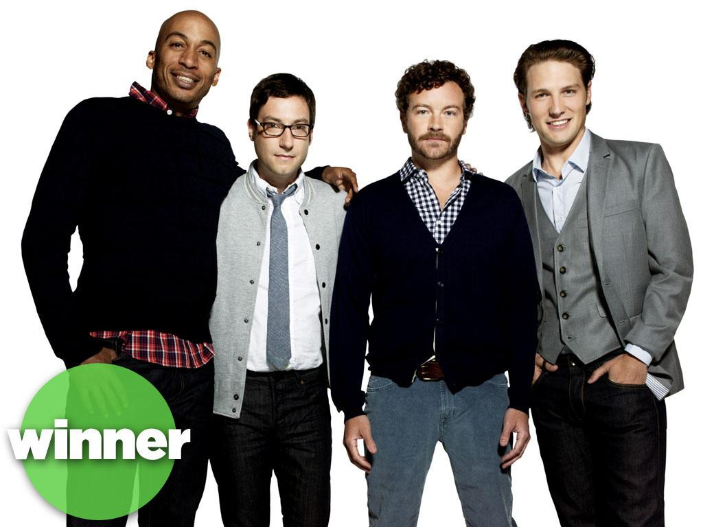 "<b>WINNER: ""Men at Work"" (TBS) </b><br><br>""Work"" seems to be working just fine so far: TBS's new bromantic comedy led by ""That '70s Show"" vet Danny Masterson is averaging 2.7 million viewers a week, making it one of the year's top cable debuts among young adults. (You know, the kind of guys who say ""dude"" and ""sweet"" a lot.) And dude, listen to this sweet news: The network has already given ""Work"" the green light for a second season. Is there a waitress around? These guys need a victory shot."