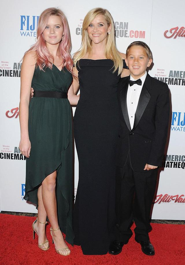 <p>Actress Reese Witherspoon became a mother at 23. (Photo by Jon Kopaloff/FilmMagic) </p>
