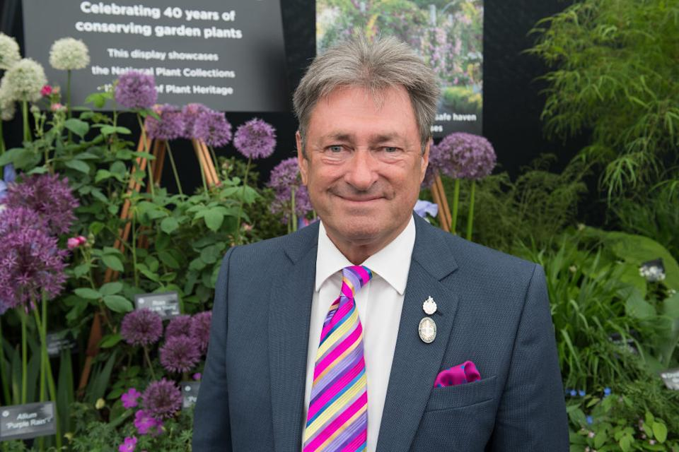 Alan Titchmarsh has described his sadness at the loss of thousands of plants. (Getty Images)