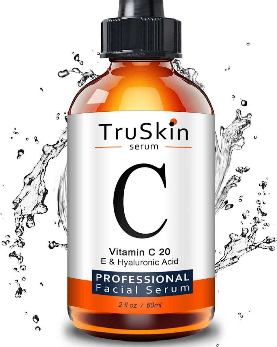 <p>This <span>TruSkin Vitamin C Serum </span> ($36) is known to fade dark spots and blemishes.</p>