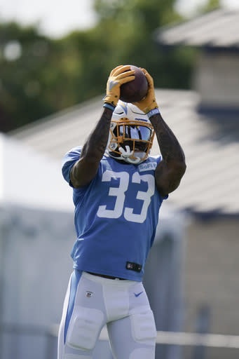 Chargers' safety James out for season after knee surgery