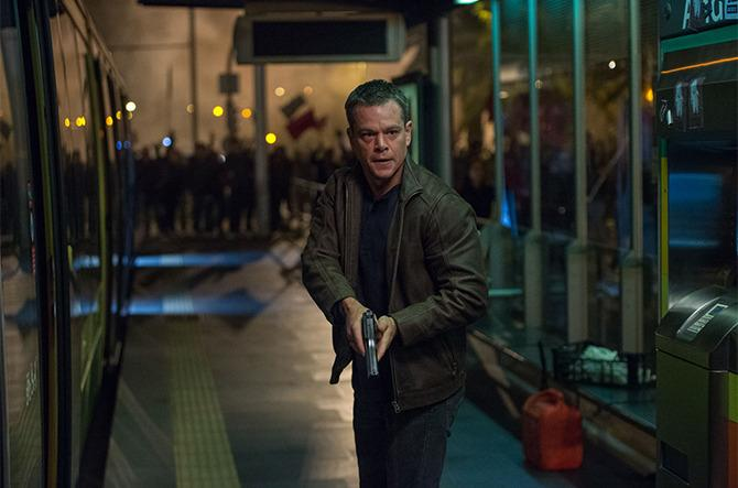 Matt Damon en Jason Bourne (2016).