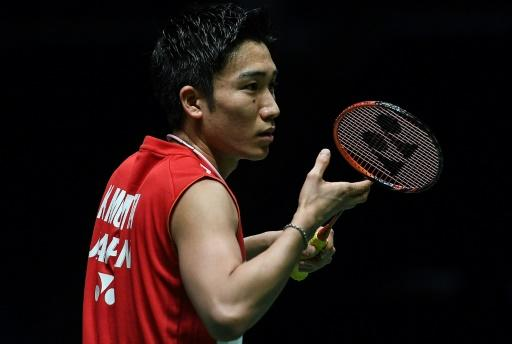 Two months out: Japan's Kento Momota