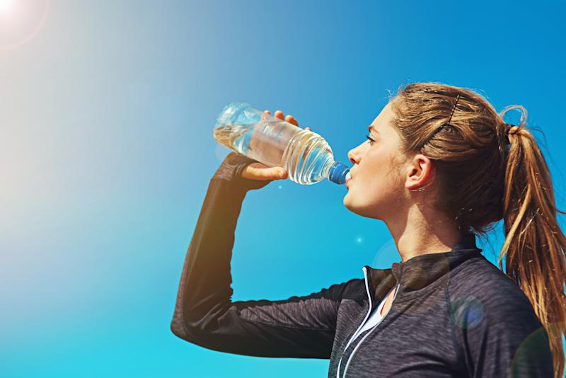 Drinking water helps the body and mind [Photo: Getty]