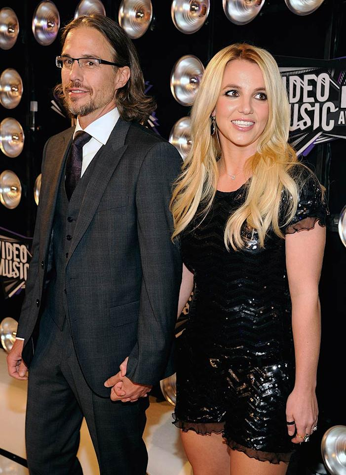 """Britney Spears and boyfriend Jason Trawick have secretly """"been engaged since this summer,"""" reveals OK! magazine, which goes on to say they're now """"planning a tropical wedding."""" For how Trawick proposed to the singer, and where and when the couple will tie the knot, see what a Spears insider leaks to <a target=""""_blank"""" href=""""http://www.gossipcop.com/britney-spears-engaged-summer-2011-jason-trawick-proposed-spring-wedding/"""">Gossip Cop</a>. (08/28/11)"""