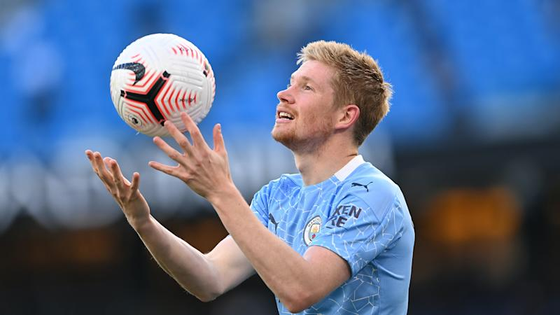 Kevin De Bruyne open to new Man City deal – but insists talks are yet to start