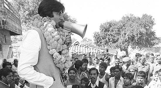 In 1984, Amitabh took a break from films to enter politics. He contested Lok Sabha elections and won from Allahabad.