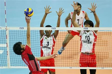 India advanced to the quarterfinals following a straight sets victory over Japan [Credits: www.fivb.org]