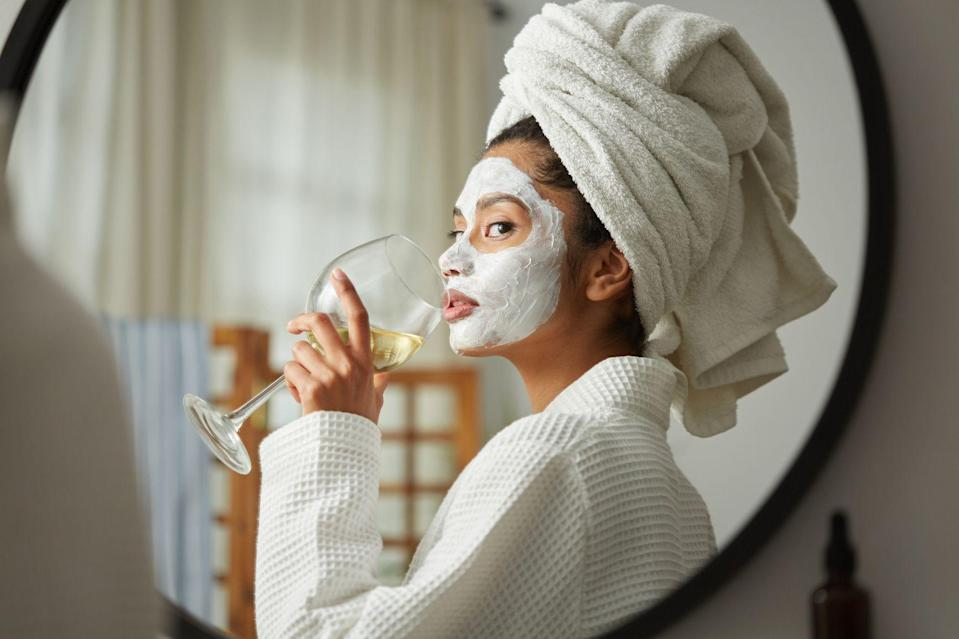 "<p>Consider face masks the ultimate therapy session for your skin. When your skin is getting all emotional on you, choosing to lash out with unwanted bumps and blackheads, all you need to do is spoil it with a soothing skincare regimen. And a <a href=""https://www.marieclaire.com/beauty/news/g2977/affordable-sheet-masks/"" rel=""nofollow noopener"" target=""_blank"" data-ylk=""slk:good face mask"" class=""link rapid-noclick-resp"">good face mask</a> is always essential. Plus, it's a cheap date for your skin. New and improved face masks come with formulas available for a <a href=""https://www.marieclaire.com/beauty/g32704553/sheet-masks-on-amazon/"" rel=""nofollow noopener"" target=""_blank"" data-ylk=""slk:fraction of the price"" class=""link rapid-noclick-resp"">fraction of the price</a> of some of the spendier options—I'm talking luxury-level ingredients for all of $5. Of course, some <a href=""https://www.marieclaire.com/beauty/a32674396/skincare-devices/"" rel=""nofollow noopener"" target=""_blank"" data-ylk=""slk:beauty investments"" class=""link rapid-noclick-resp"">beauty investments</a> are necessary, but you don't have to sacrifice your entire paycheck for a mask to work wonders on your skin. New drugstore face masks are popping up every single day with impressive ingredient lists to solve all of your skin woes. </p><p>Whether you're looking for hydrating, acne-targeted, glow-boosting, or brightening masks, there's an option for you. Trust, you're going to want to buy these in bulk and incorporate these gems into your pamper sessions pretty often. To back up these unbelievably affordable options, Team MC reached out to celebrity dermatologists <a href=""http://www.mudgildermatology.com/"" rel=""nofollow noopener"" target=""_blank"" data-ylk=""slk:Dr. Adarsh Vijay Mudgil, MD"" class=""link rapid-noclick-resp"">Dr. Adarsh Vijay Mudgil, MD</a> and <a href=""https://www.schweigerderm.com/providers/rachel-nazarian-m-d/"" rel=""nofollow noopener"" target=""_blank"" data-ylk=""slk:Dr. Rachel Nazarian"" class=""link rapid-noclick-resp"">Dr. Rachel Nazarian</a> of Schweiger Dermatology to share the drugstore face masks they recommend to all their patients. We also threw in a couple of tried-and-true favorites, so you can screenshot this list for your next drugstore run. So whether you're tragically hungover, a lifelong acne sufferer, or just the victim of a too-strong serum, these masks have you covered. </p>"
