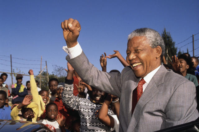 Nelson Mandela (Louise Gubb/CORBIS SABA/Corbis via Getty Images)