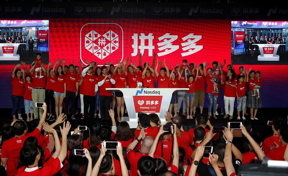 Pinduoduo has rapidly become one of China's top e-commerce platforms since launching in 2015, and Gome hopes a partnership formed last year can help it get back on track after four years of losses. Photo: Reuters