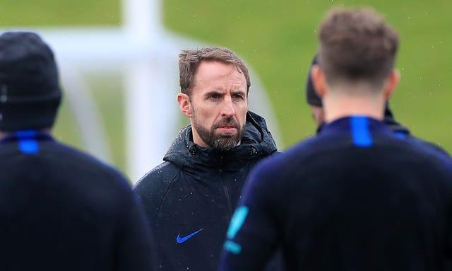 England training at St George's Park gets under way on Tuesday