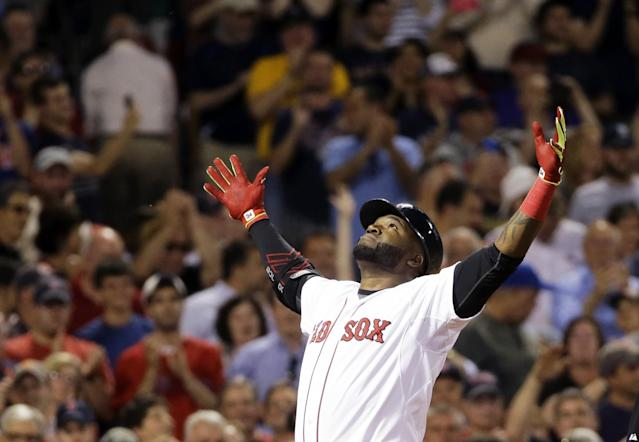 Can Big Papi lead the Red Sox to another World Series win? (AP)