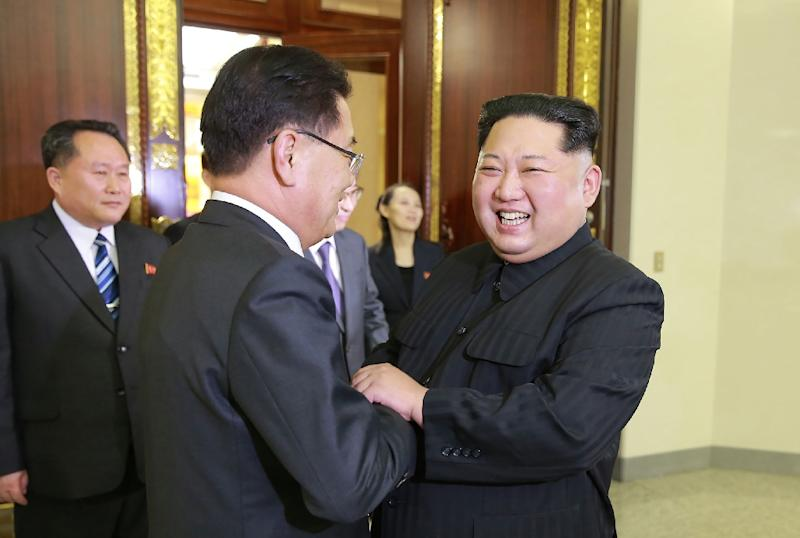 According to Seoul, North Korea's leader Kim Jong Un said Pyongyang wanted to talk to the US and would not need nuclear weapons if the country's security was guaranteed