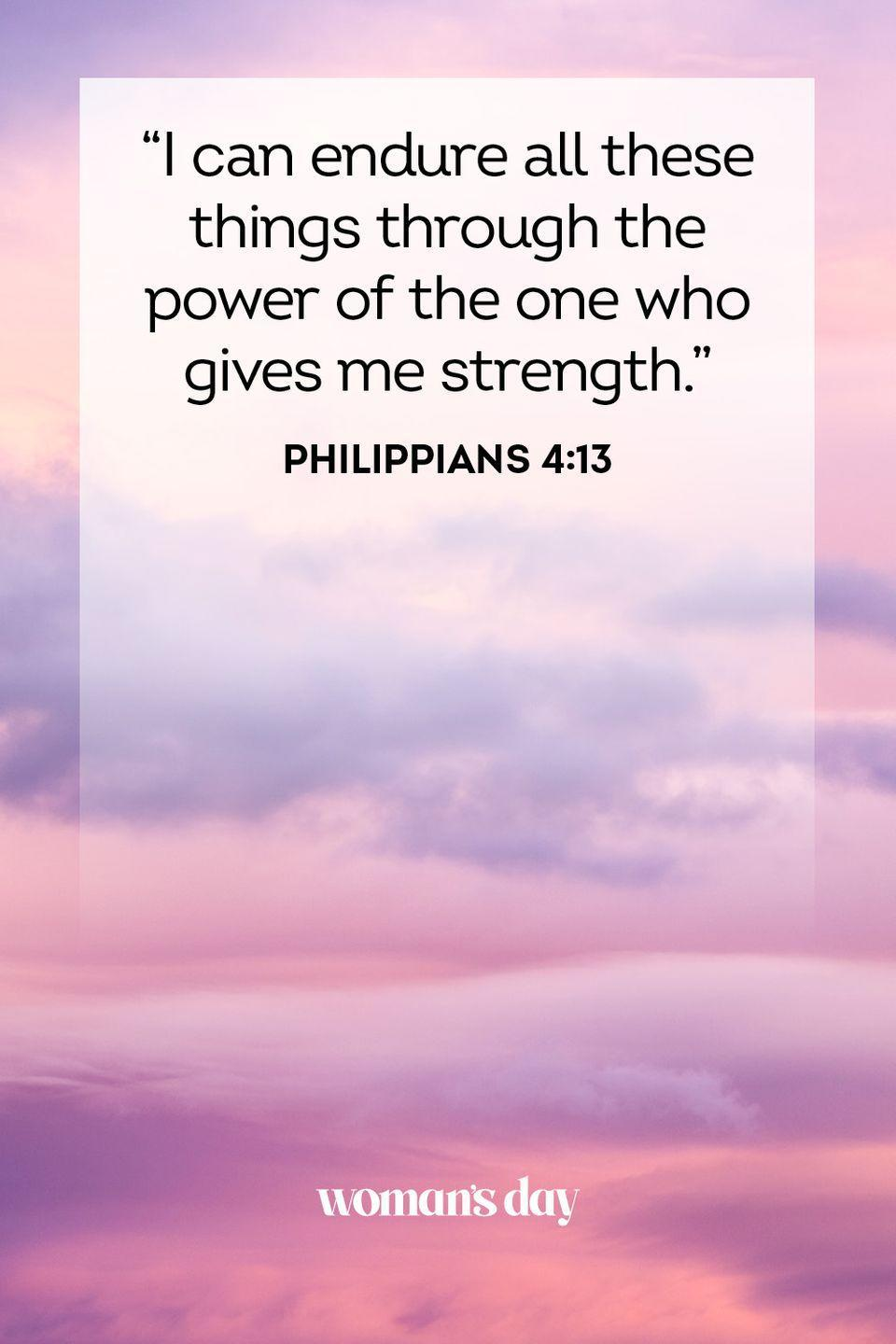 """<p>""""I can endure all these things through the power of the one who gives me strength."""" — Philippians 4:13</p><p><strong>The Good News: </strong>There are a lot of rules in the Bible, but the most important ones to follow are the commandments that God set forth via Moses. If we persist in abiding by those, we can help make our lives and our communities a better place.</p>"""
