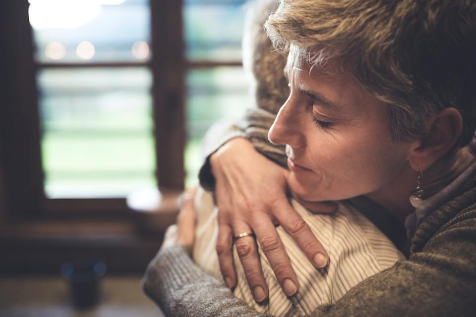 A quarter of adults haven't been hugged in more than a year. (Getty Images)