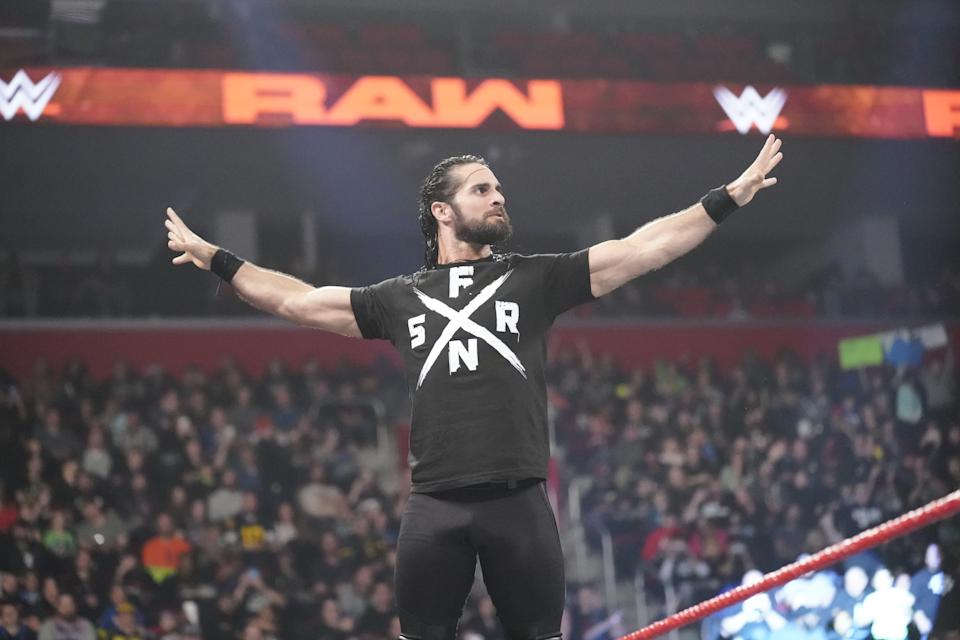 Seth Rollins had faced a long road back to the biggest title picture in WWE. (Photo courtesy of WWE)