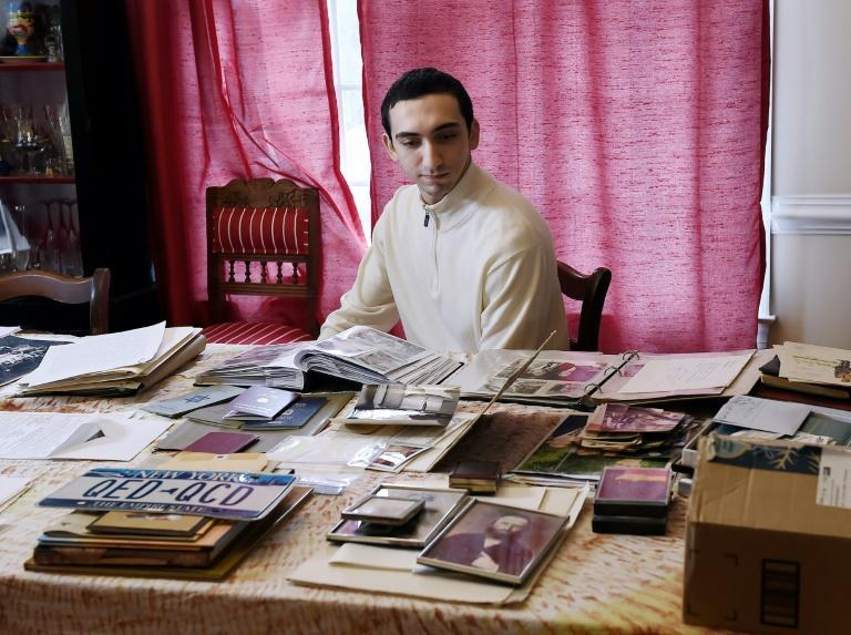 Noah Rohrlich, 25, remembers trying to get memories of Vienna from his grandfather who escaped before the outbreak of WWII
