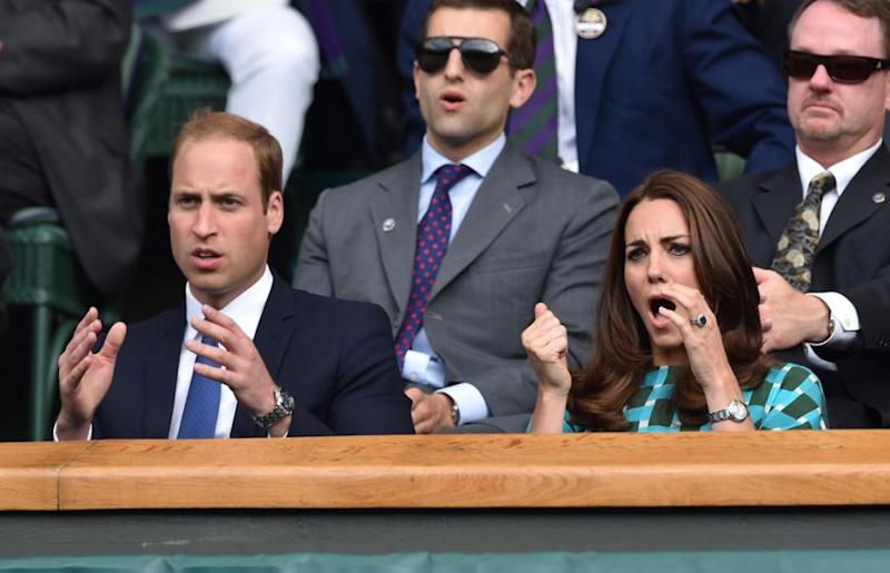 It's reported that people are fuming that Prince William and Kate Middleton aren't members of the club. Photo: Getty Images