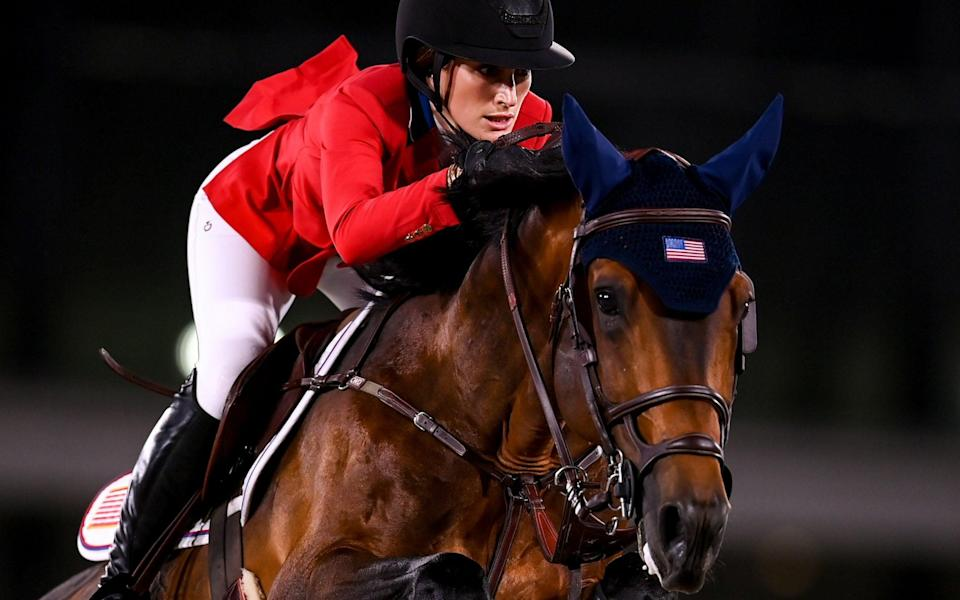 Jessica Springsteen stepping of Bruce's shadow: 'Musicians get to sing it again, riders just get one shot' - GETTY IMAGES