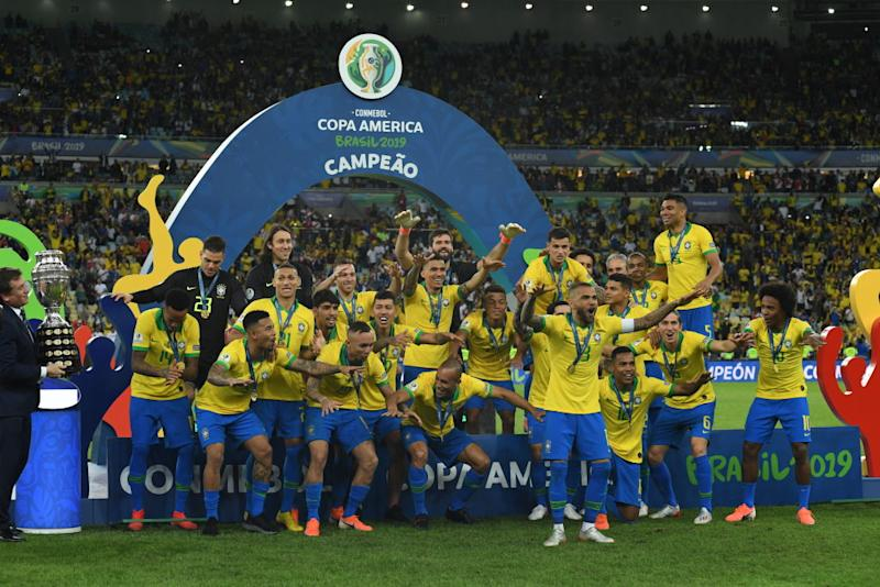 Brasil conquistó su novena Copa América con total merecimiento. (Photo by Kaz Photography/Getty Images)