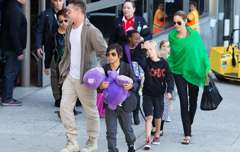 The actress has six children of her own with Brad Pitt, three of whom are adopted.