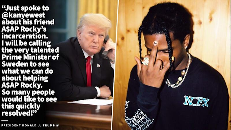 Donald Trump and Kim Kardashian's Plan Backfires As They Try to Help ASAP Rocky