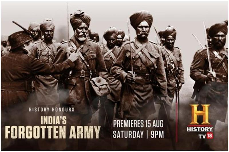 India's Forgotten Army: HistoryTV18's Independence Day Gift